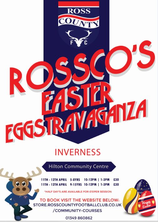 Ross County Open Day – Inverness Royal Academy
